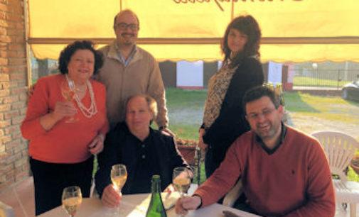 TORRAZZA COSTE 16/03/2015: Il giornalista wine-writer Daniel Thomases in visita alle cantine oltrepadane