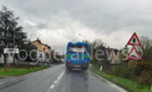 VARZI 05/03/2015: Bus. Partenza posticipata di mezz'ora. Migliora la linea Varzi–Casanova Staffora