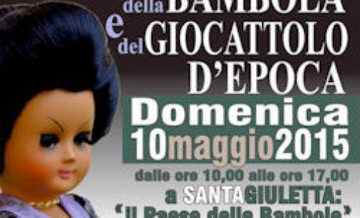 SANTA GIULETTA 25/04/2015: E' in arrivo la Mostra mercato della Bambola e del giocattolo d'epoca