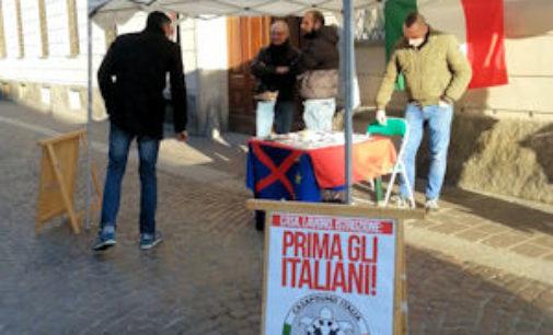 """PAVIA 13/04/2015: 1milione e 200mila € per i minori stranieri. CasaPound """"Il Comune discrimina gli italiani"""""""