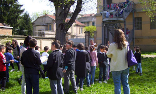 VOGHERA 14/04/2015: Scuola. Alla De Amicis le prove di evacuazione