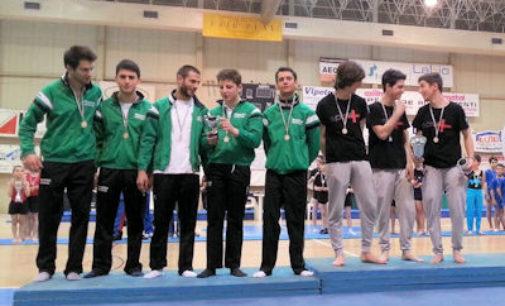 VOGHERA 28/04/2015: Ginnastica. Team Anni Verdi secondi per un soffio a Mortara. Le ragazze si qualificano per la finale nazionale