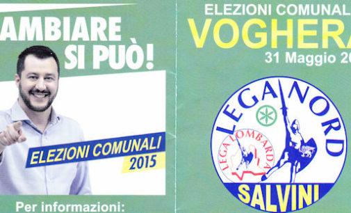 """ELEZIONI Torriani (Lista Civica: Torriani con Voghera) + Pastore (Lega) """"ticket"""" BANNER"""