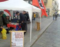 """PAVIA 16/04/2015: CasaPound Pavia. """"Ci vogliono ghettizzare! Ma noi proseguiremo la nostra attività a fianco degli italiani"""""""