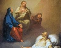 RIVANAZZANO 08/04/2015: Restaurato il dipinto di Borroni nella chiesa di S.Germano. Ecco come è stato salvato