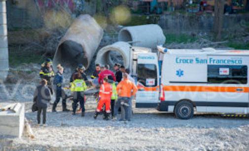 SALICE TERME 08/04/2015: 64enne preso dalla disperazione si getta dal ponte sullo Staffora