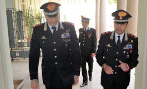 PAVIA 27/05/2015: Oggi la visita del Comandante Interregionale dei Carabinieri Vincenzo Coppola