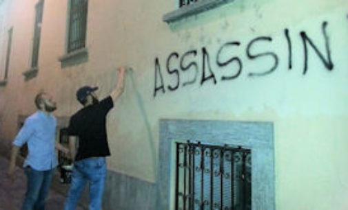"""PAVIA 15/05/2015: Violenze contro CasaPound. """"Pavia dovrebbe rendersi conto di chi vuole minare il nostro tracciato"""""""