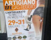 CASTEGGIO 15/05/2015: Sedere di donna nella locandina. L'assessore provinciale boicotterà la cerimonia della manifestazione di fine mese nell'Area Truffi. Marchiafava non è nuova a queste denunce