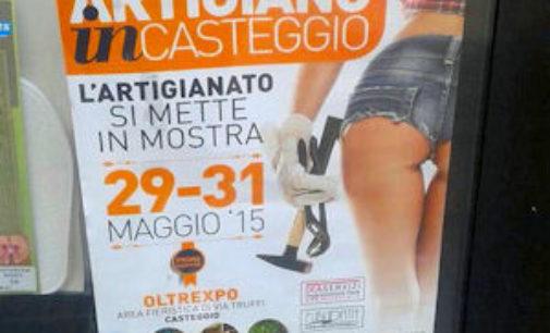 CASTEGGIO 21/05/2015: Sanzionata la pubblicità con il sedere di donna in vista