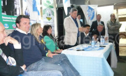 VOGHERA 26/05/2015: Elezioni. Beccalossi oggi in città per Torriani. Fdi va all'attaco di FI
