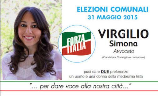 Elezioni 2015. SIMONA VIRGILIO con BARBIERI