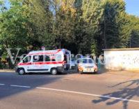 VOGHERA 05/08/2015: Incidente di gioco nel giardino attrezzato di via Facchinetti
