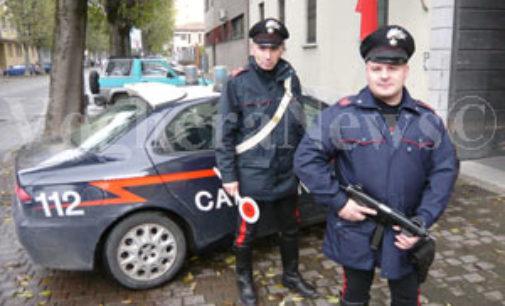 VOGHERA 14/08/2015: Carabinieri denunciano 2 persone. Una perchè deteneva droga