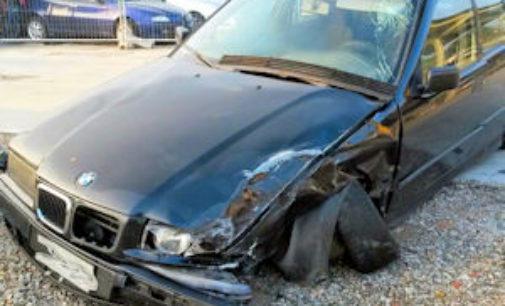 CODEVILLA 04/08/2015: Tre auto coinvolte in un sinistro sulla Bressana-Salice