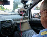 """VOGHERA 04/08/2015: Continuano assidui i controlli in strada della polizia locale di Voghera con l'apparecchiatura """"Lince Road"""". Molte le auto trovate senza revisione e assicurazione"""