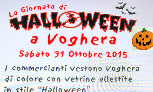 VOGHERA 31/10/2015: Halloween. Oggi la festa per le vie della città organizzata dai commercianti
