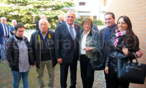 VOGHERA 06/11/2015: Disabili. Oggi in città il presidente nazionale Anffas. Carica onoraria a Maria Obertelli