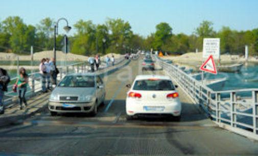 BEREGUARDO 26/11/2015: Strade. Nuovi fondi della Provincia per il ponte di barche