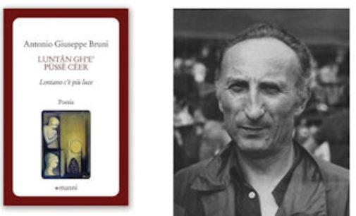 MONTEBELLO 09/11/2015: Sabato alla Soms il libro di poesie in dialetto di Antonio Giuseppe Bruni