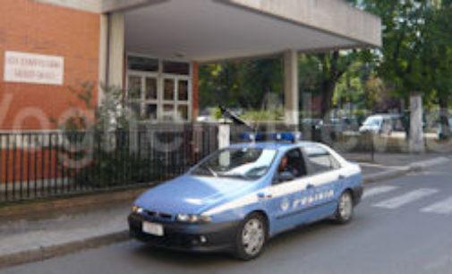 CASTEGGIO 21/11/2015: Polizia in due ore ritrova auto rubata