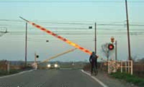 VOGHERA 12/06/2020: Ferrovie. RFI elimina un passaggio a livello in città. Altri 3 in Lomellina (Cozzo e Candia)