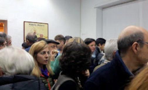 VOGHERA 22/11/2015: In centinaia all'inaugurazione dell'associazione VOGHERAE'