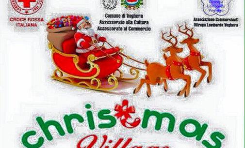 VOGHERA 22/12/2015: Natale. Da oggi fino a Giovedì il Christmas Village in viale Marx