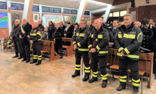 PAVIA VOGHERA 07/12/2015: Pompieri. Festeggiata la Santa patrona. Nell'occasione annunciate alcune novità. La principale è la ri-apertura del distaccamento di Varzi