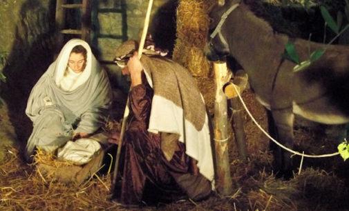 ZAVATTARELLO 23/12/2015: Domani sera e a Santo Stefano al Castello e nel borgo torna il Presepe vivente
