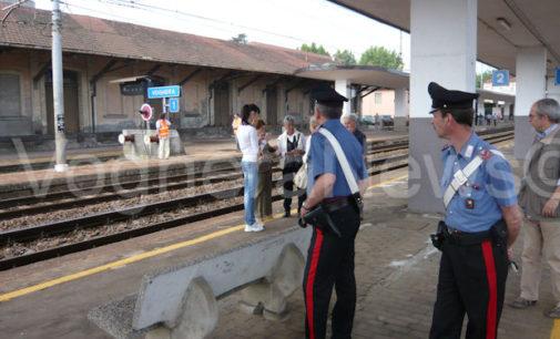 VOGHERA 02/01/2016: Donna aggredita in stazione. I carabinieri indagano per capire le circostanze di quanto accaduto a fine anno