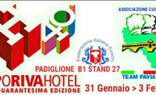 RIVA DEL GARDA 11/01/2016: Anche i Cuochi di Pavia alla 40° edizione di Exporivahotel