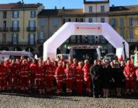 VOGHERA 18/01/2016: La Croce Rossa inaugura 3 nuovi mezzi. Torti: Il nostro è il terzo Comitato più grande d'Italia, per numero di servizi e chilometri percorsi tutto l'anno