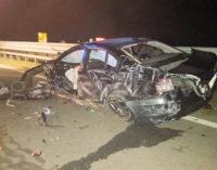 VOGHERA 12/03/2021: Morte di Sara Macaluso. Arrestato dai Carabinieri il conducente dell'auto che si schiantò contro un new jersey sulla Sp206