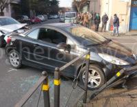 VOGHERA 22/01/2016: Ennesimo incidente lungo via San Francesco. Apprensione per un'automobilista coinvolta trovata semincosciente