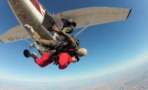 VOGHERA 21/01/2016: Torna il corso di paracadutismo dell'Associazione Nazionale Paracadutisti d'Italia