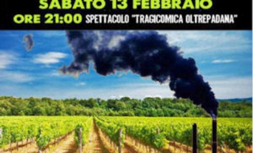 """TORRAZZA COSTE BAGNARIA 26/01/2016: A teatro per dire no all'impianto di Pirolisi di Retorbido. Torna """"Oltrepossiamo"""""""