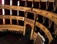 VOGHERA 22/01/2016: Teatro Sociale. Voghera chiama Milano per la grande sfida della riapertura. Visita alla Scala ieri di una delegazione comunale guidata dal sindaco