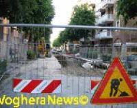 VOGHERA 05/02/2016: Nuove fognature in via Barenghi. Il sindaco conferma i lavori