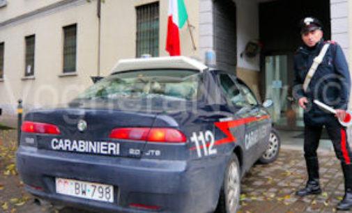VOGHERA 17/02/2016: Controlli dei carabinieri di Voghera in tre comuni oltrepadani
