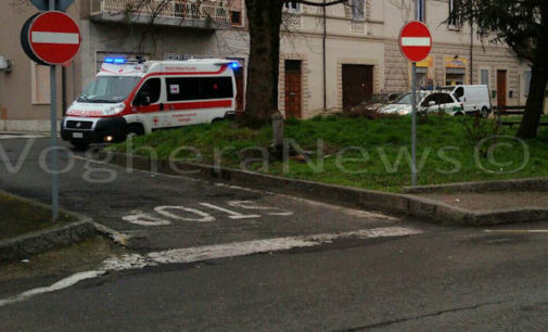 CASTEGGIO 27/02/2016: Lite fra migranti in centro. Sul posto Carabinieri Vigili e Ambulanza