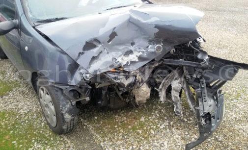 CASATISMA 01/02/2016: Tamponamento fuori dall'autostrada. Tre auto coinvolte. Un ferito è grave. Oggi alle 6 auto fuori strada a Santa Maria della Versa