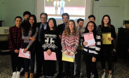 """VOGHERA 23/02/2016: Scuola. """"Un Poster per la Pace"""". Premiati gli alunni della Plana"""