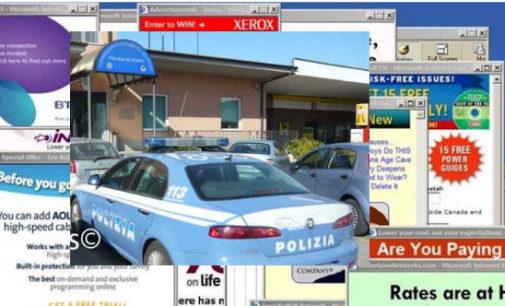 """CASTEGGIO 05/02/2016: Occhio ai """"Pop-up"""". 20enne fregato in Internet da una finestra che compare all'improvviso e lo indirizza su un sito di vendite truffa"""