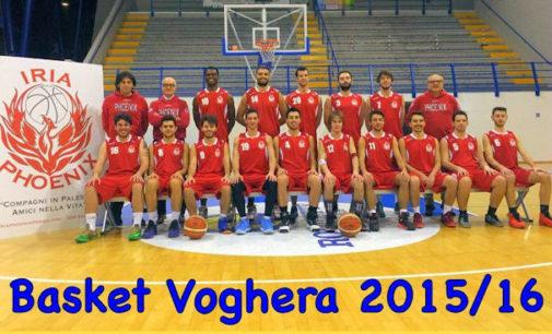 VOGHERA 02/03/2016: Pallacanestro. La PHOENIX basket Voghera saldamente seconda dopo lo scontro vinto con l'Opera Basket