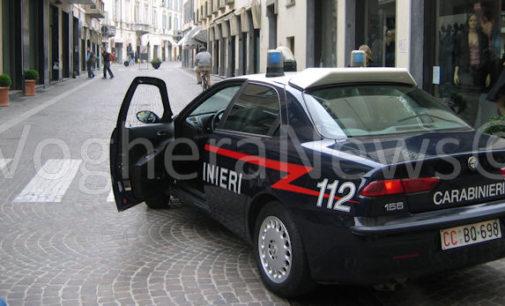 VOGHERA 24/03/2016: Presunto raggiro in via Emilia ai danni di una donna. I carabinieri fermano due persone per accertamenti