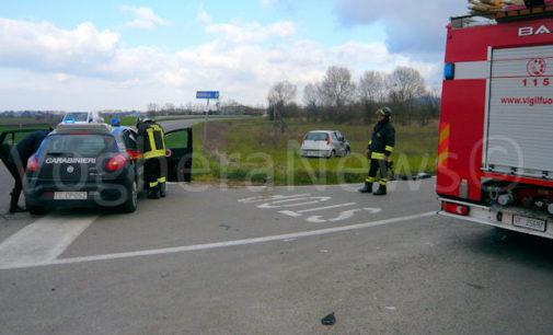 CODEVILLA 09/03/2016: Pauroso scontro sulla Bressana-Salice. Ferite 3 persone di Retorbido e Torrazza Coste