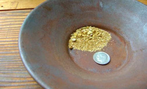 PAVIA 24/03/2016: L'Associazione Mineralogica lancia due conferenze sull'oro. Prevista anche un'uscita alla ricerca del prezioso minerale