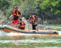 CASEI GEROLA 21/01/2021: (AGGIORNAMENTO) Vigili del fuoco al ponte della Gerola per una presunta caduta in acqua di una persona. In corso le verifiche sulla veridicità della segnalazione