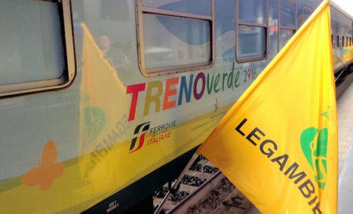 PAVIA 01/03/2016: In stazione da domani a venerdì il Treno Verde di Legambiente. Quest'anno Focus su Smog e Rumore. 4 i vagoni da visitare al Binario 6… e domani mattina il Trofeo Tartaruga.